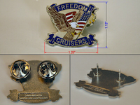 FCRC Eagle Pin